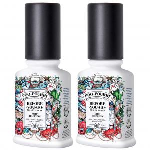 You & Me - Ship Happens Poo-Pourri® - 59 & 59 ml
