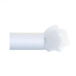 Fine Tulle Roll White 20 m x 30 cm