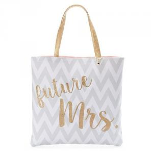 Mirror Mirror Bridal Reversible Tote