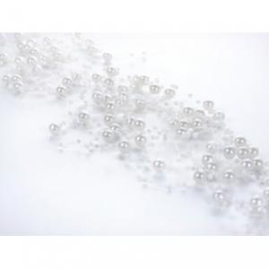 Beaded White Pearl Garland - vita pärlgirlanger
