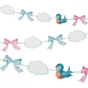 Baby on Board Garland - Baby Shower vimpel