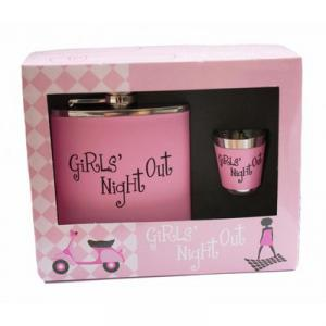Girls Night Out Hip Flask Set - fickplunta & shotsglas