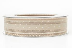 Sand Dot Ribbon 25 mm
