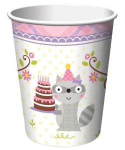 Happi Woodland Girl Cups