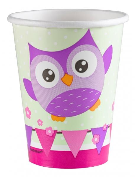 Owl Paper Cups 266 ml