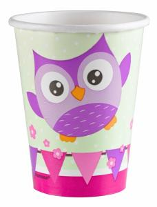 Owl Paper Cups 266 ml