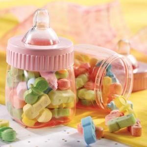 Pink Fillable Baby Bottles - mininappflaskor