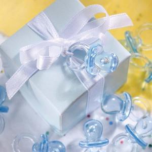 Blue Crystal Dummies - blåa mininappar