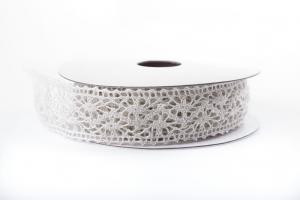 Creme Lace Ribbon 22 mm