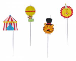 Fisher-Price® Circus Mini Figurine Candles