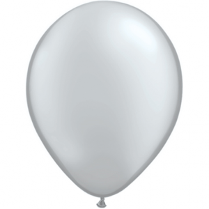 Pearl Silver Balloons
