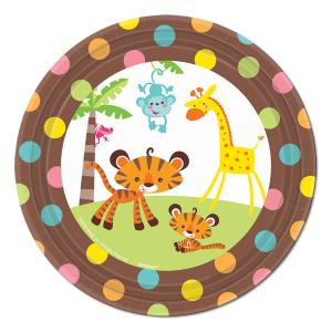 Fisher-Price® Welcome Baby Dessert Plates