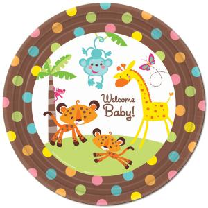 Fisher-Price® Welcome Baby Plates