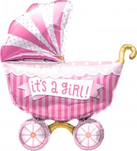 It's a Girl Buggy - rosa barnvagn