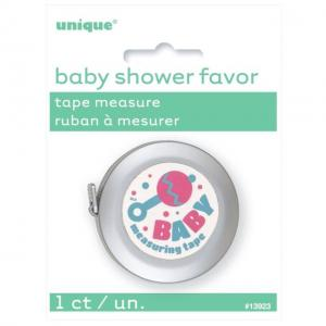 Baby Shower Tape Measure Favor - måttband