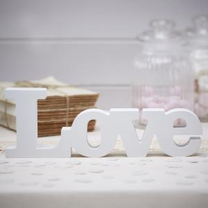 Wooden Love Sign - Vintage Affair