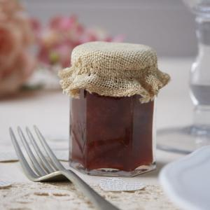 Mini Hessian Jam Jar Toppers - Vintage Affair
