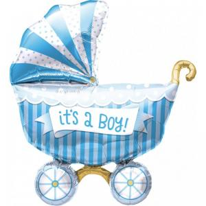 It's a Boy Buggy - blå barnvagn