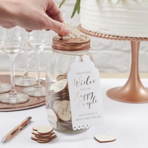 Wishing Jar Guest Book - Beautiful Botanics