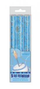 Glitz Ice Fountain Blue - blåa isfacklor