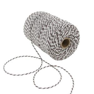 Brown/White Cotton Yarn 200 m