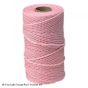 Baby Pink Cotton Yarn 10 m
