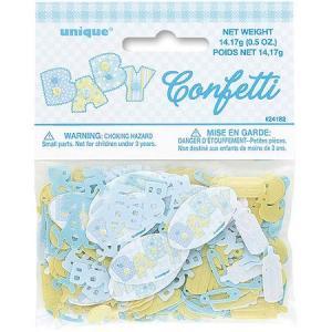 Confetti Baby Stitching Blue