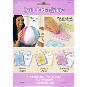 Baby Shower Ball Toss Game