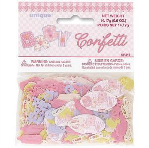 Confetti Baby Stitching Pink