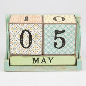 Modern Morocco Calendar block - blockkalender