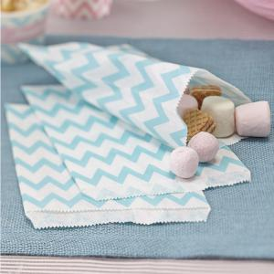 Candy Bags Mint Green - Chevron Divine
