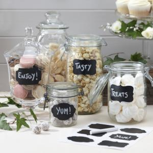 Chalk Board Sticker Labels - Vintage Affair