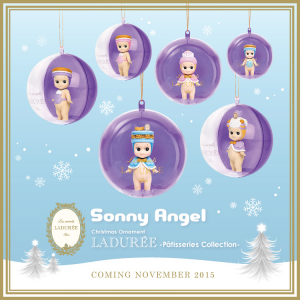 Sonny Angel Christmas Ornament 2015