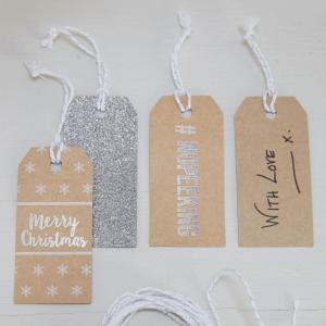 Festive Gift Tags - Christmas Metallics
