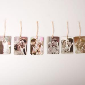 Romantic Photo Gift Tags - presentetiketter