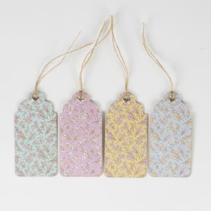 Grace Floral Gift Tags - presentetiketter