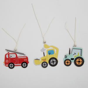 Illustrated Trucks Gift Tags - etiketter