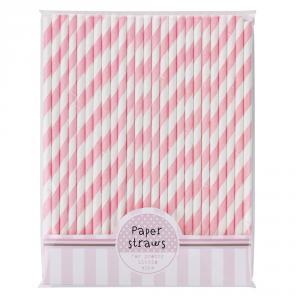 Pink N Mix Paper Straws