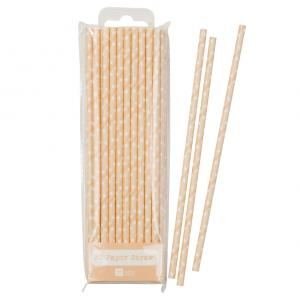 Mix & Match Peach Straws