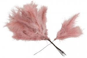 Old Pink Duster 12 st - Feather Romance
