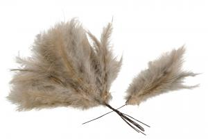 Light Taupe Duster 12 st - Feather Romance