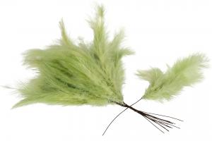 Lime Green Duster 12 st - Feather Romance