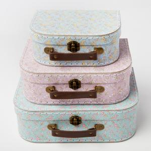 Grace Floral Suitcases - set of 3