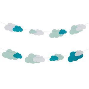 Paper Garland - Clouds