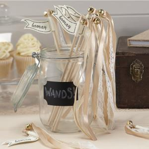 Gold Wedding Wands - Vintage Affair