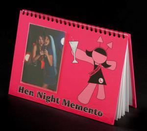 Hen Night Memento Book - minnesbok för möhippan