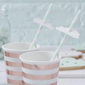 Cloud Paper Straws - Hello World