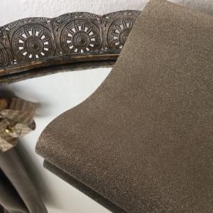 Table Runner Glitter Copper - exklusiv bordslöpare