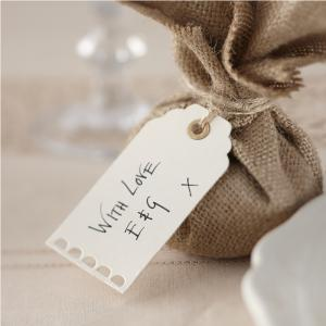 Ivory Luggage Tags - Vintage Affair