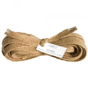 Nature Burlap Ribbon 10 mm